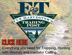Everything you need for Trapping, Hunting with Hounds and Predator Calling.